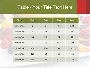 Fruit Salad PowerPoint Templates - Slide 55