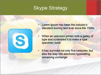 Fruit Salad PowerPoint Template - Slide 8