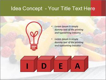 Fruit Salad PowerPoint Templates - Slide 80