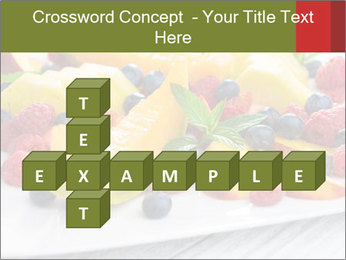 Fruit Salad PowerPoint Templates - Slide 82