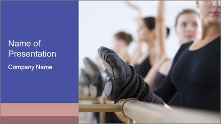 Ballet Class PowerPoint Template