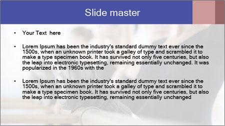 Ballet Class PowerPoint Template - Slide 2