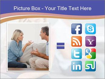 Couple Argue PowerPoint Templates - Slide 21