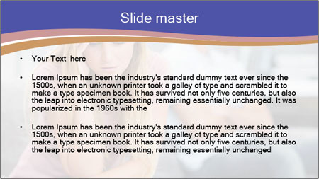 Couple Argue PowerPoint Template - Slide 2