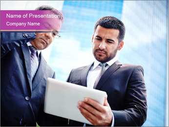 Business Consulting PowerPoint Template - Slide 1
