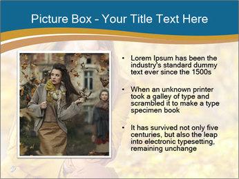 Autumn Princes PowerPoint Template - Slide 13