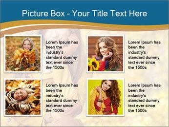 Autumn Princes PowerPoint Template - Slide 14