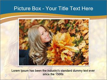 Autumn Princes PowerPoint Template - Slide 15
