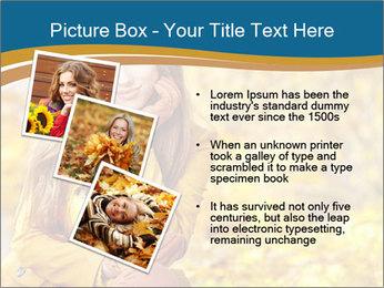 Autumn Princes PowerPoint Template - Slide 17