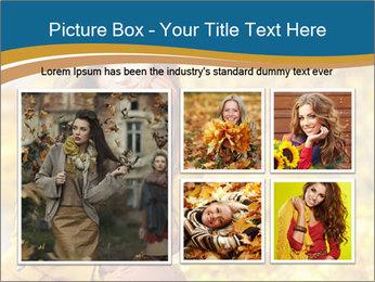 Autumn Princes PowerPoint Template - Slide 19