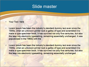 Autumn Princes PowerPoint Template - Slide 2