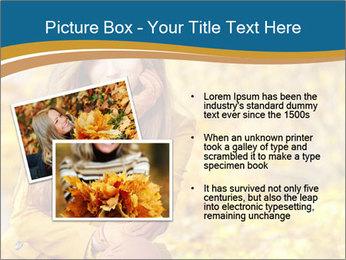 Autumn Princes PowerPoint Template - Slide 20
