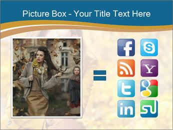 Autumn Princes PowerPoint Template - Slide 21