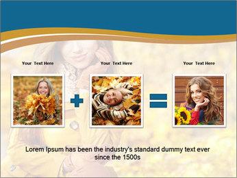 Autumn Princes PowerPoint Template - Slide 22