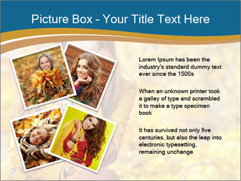 Autumn Princes PowerPoint Template - Slide 23