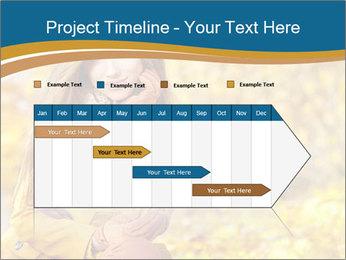 Autumn Princes PowerPoint Template - Slide 25