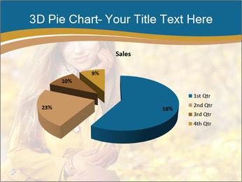 Autumn Princes PowerPoint Template - Slide 35