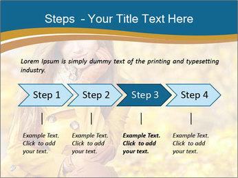 Autumn Princes PowerPoint Template - Slide 4