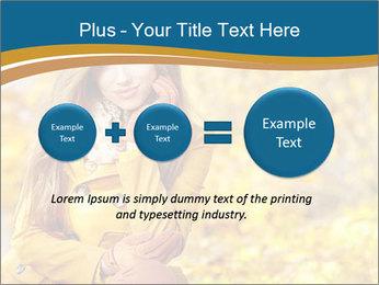 Autumn Princes PowerPoint Template - Slide 75