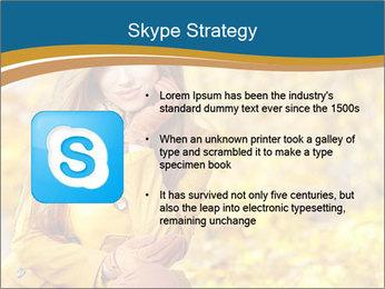 Autumn Princes PowerPoint Template - Slide 8