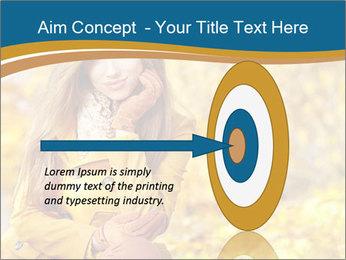 Autumn Princes PowerPoint Template - Slide 83