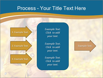 Autumn Princes PowerPoint Template - Slide 85