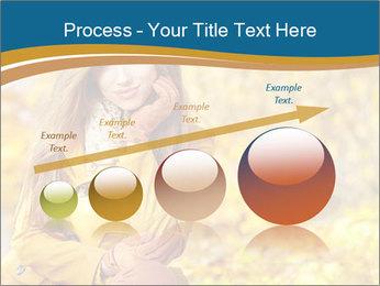 Autumn Princes PowerPoint Template - Slide 87