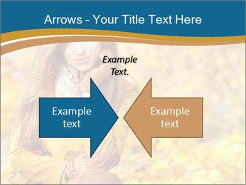 Autumn Princes PowerPoint Template - Slide 90