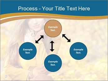 Autumn Princes PowerPoint Template - Slide 91