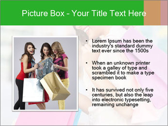 Woman Chatting In Shopping Mall PowerPoint Template - Slide 13