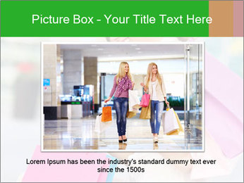Woman Chatting In Shopping Mall PowerPoint Template - Slide 15