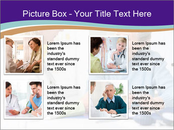 Old Woman Visits Doctor PowerPoint Template - Slide 14