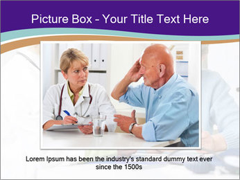 Old Woman Visits Doctor PowerPoint Template - Slide 15