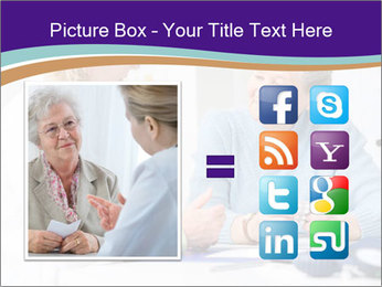 Old Woman Visits Doctor PowerPoint Template - Slide 21