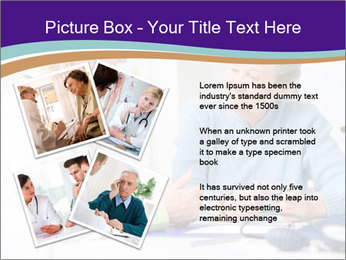 Old Woman Visits Doctor PowerPoint Template - Slide 23