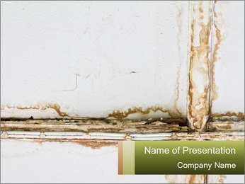 Abandon Wall PowerPoint Template
