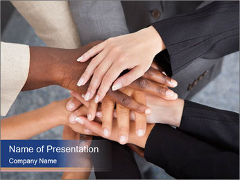 Team Unity PowerPoint Template - Slide 1