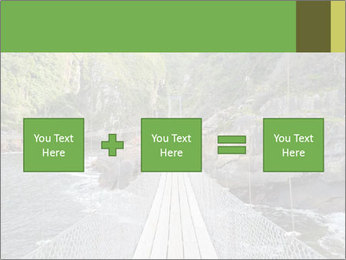 Hanging Bridge In Forest PowerPoint Template - Slide 95