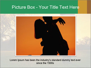 Man Playing Golf During Sunset PowerPoint Template - Slide 16