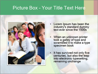 Student At College Campus PowerPoint Template - Slide 13