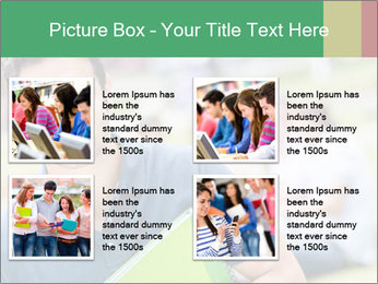Student At College Campus PowerPoint Template - Slide 14