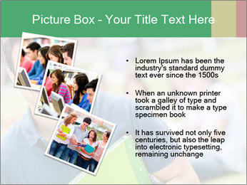 Student At College Campus PowerPoint Template - Slide 17