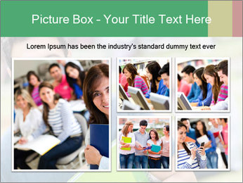 Student At College Campus PowerPoint Template - Slide 19