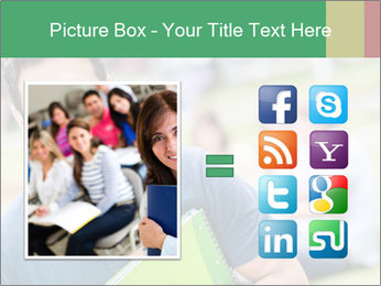 Student At College Campus PowerPoint Template - Slide 21