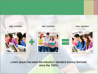 Student At College Campus PowerPoint Template - Slide 22