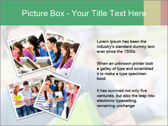 Student At College Campus PowerPoint Template - Slide 23