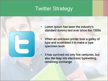 Student At College Campus PowerPoint Template - Slide 9