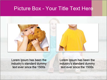 Girl With Baby Sister PowerPoint Template - Slide 18