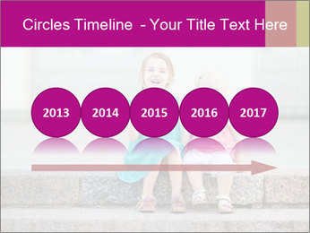 Girl With Baby Sister PowerPoint Template - Slide 29