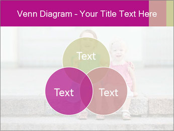 Girl With Baby Sister PowerPoint Template - Slide 33